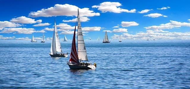 Barcos costa de El Masnou