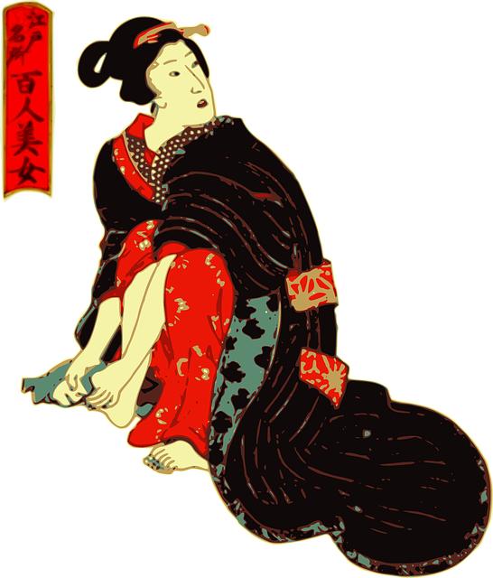 Geisha mujer japonesa